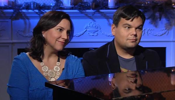Kristen Anderson-Lopez & Robert Lopez